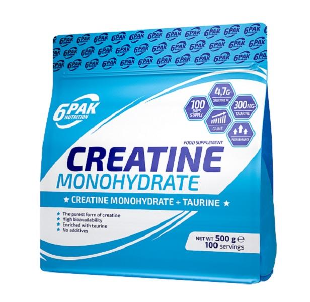 6PAK NUTRITION Creatine Monohydrate 500g (Креатин монохидрат)