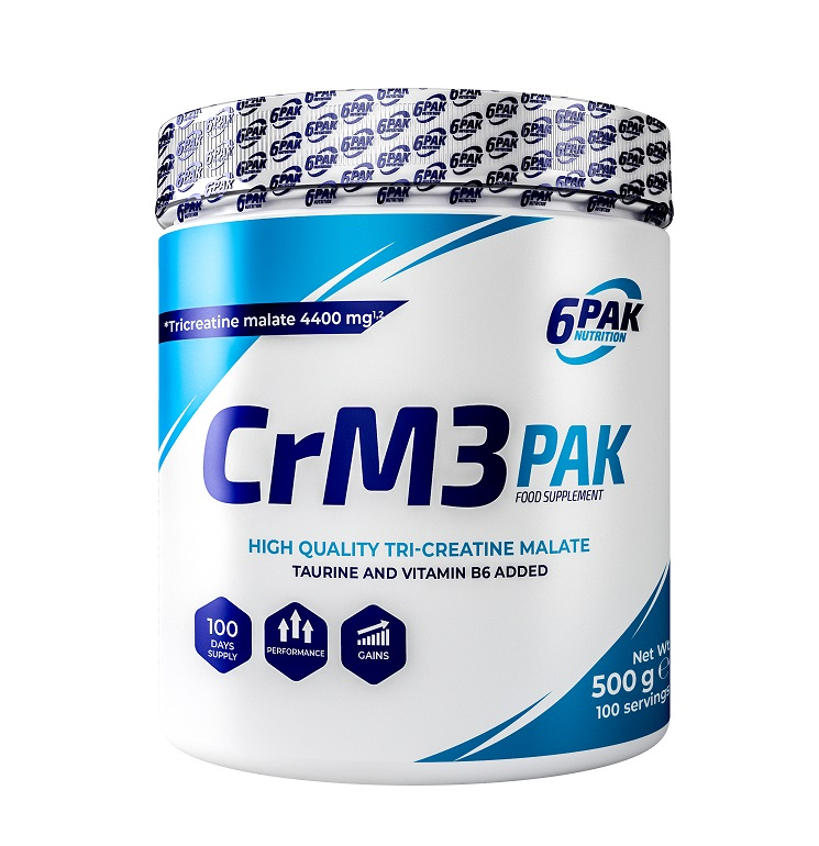 6PAK NUTRITION Crm3 Pak 500g (Трикреатин малат)