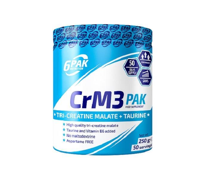 6PAK NUTRITION Crm3 Pak 250g (Трикреатин малат)