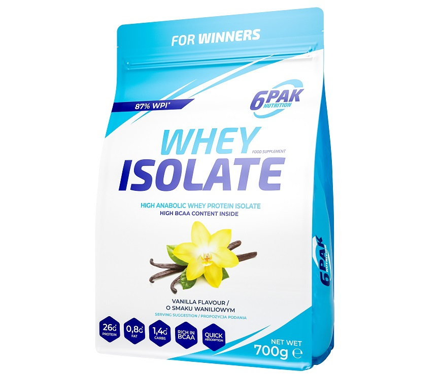6PAK NUTRITION Whey Isolate 700g
