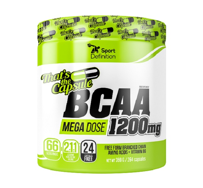 Sport Definition Bcaa 1200mg That′s The Capsule 264caps