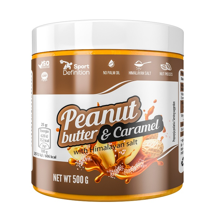 Sport Definition That's The Peanut Butter & Caramel 500g (Фъстъчено масло с карамел)