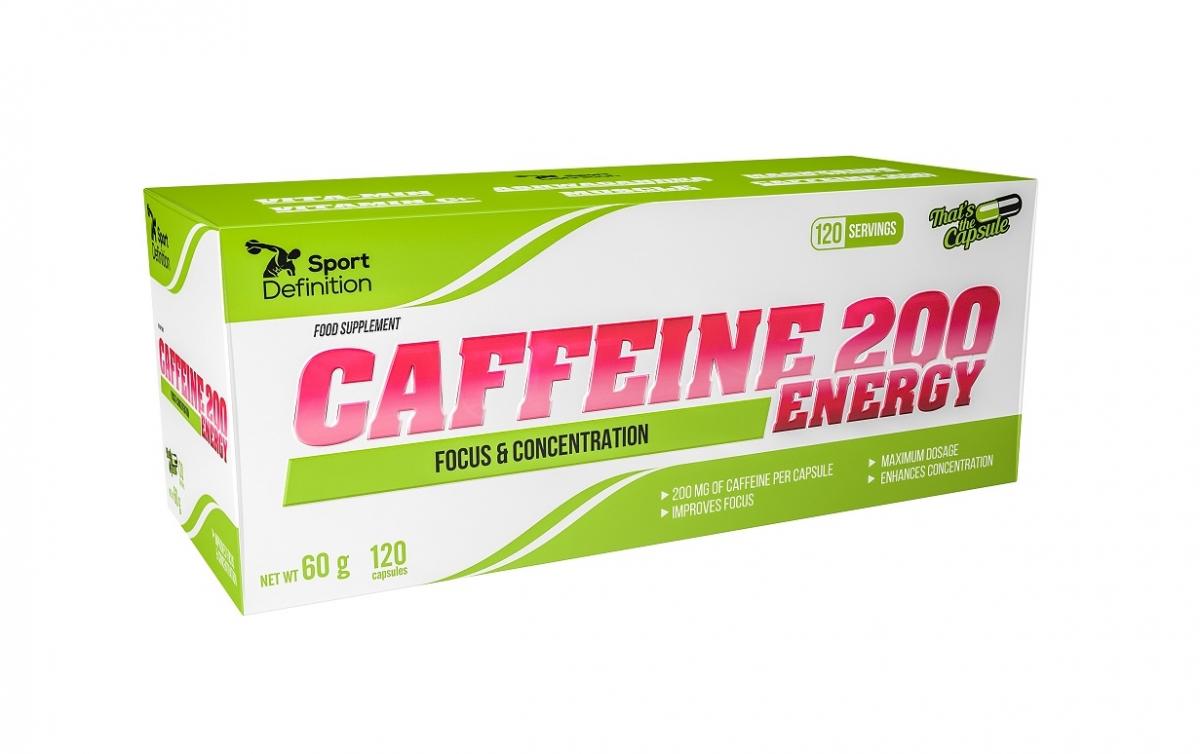 Sport Definition Caffeine 200 Energy 120caps