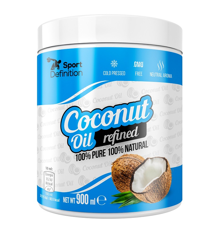 Sport Definition Coconut Oil Refined 900ml (Кокосово масло)