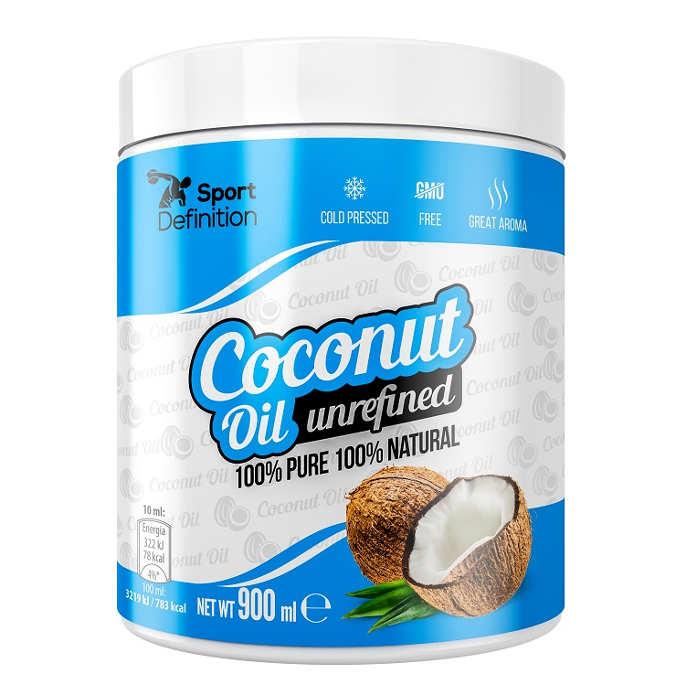 Sport Definition Coconut Oil Unrefined 900ml (Кокосово масло)