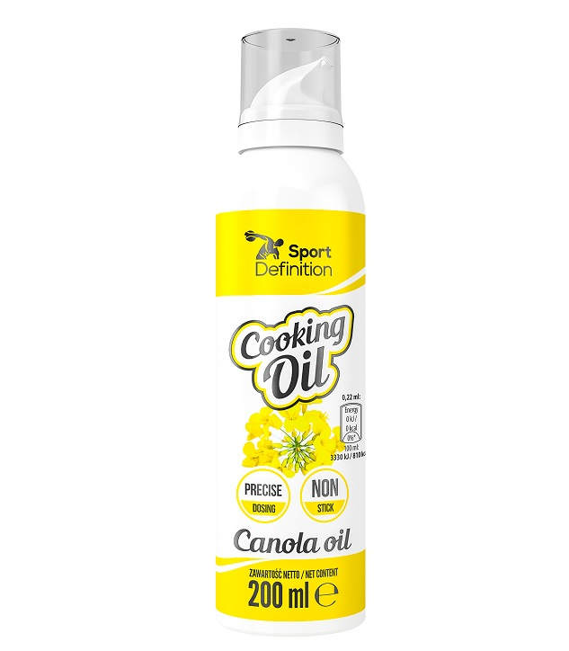 Sport Definition Cooking Oil Spray Canola Oil 200ml (Олио от рапица)