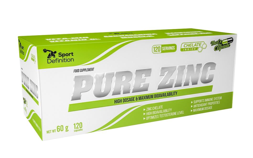 Sport Definition Pure Zinc 120caps