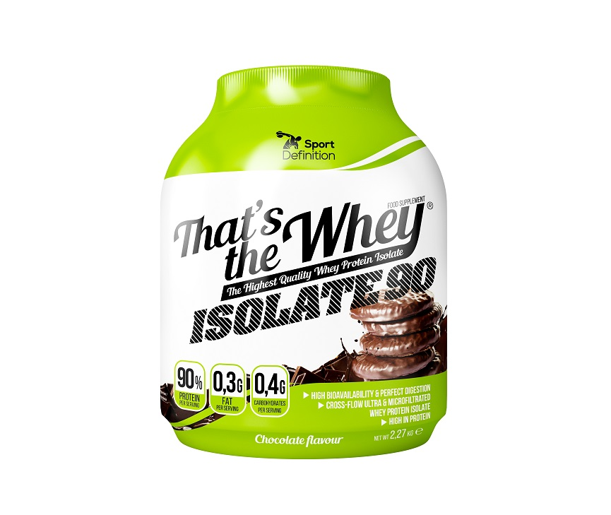 Sport Definition That′s The Whey Isolate 2kg