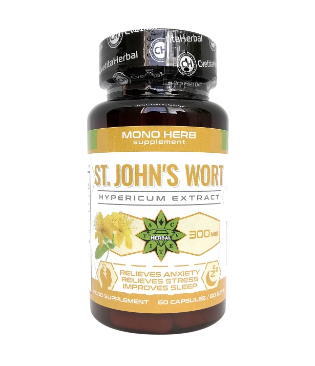Cvetita Herbal St. John′s Wort 300mg 60caps