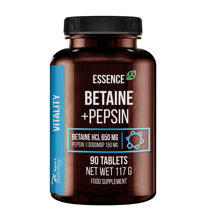 Essence Nutrition Betaine + Pepsin 90tabs