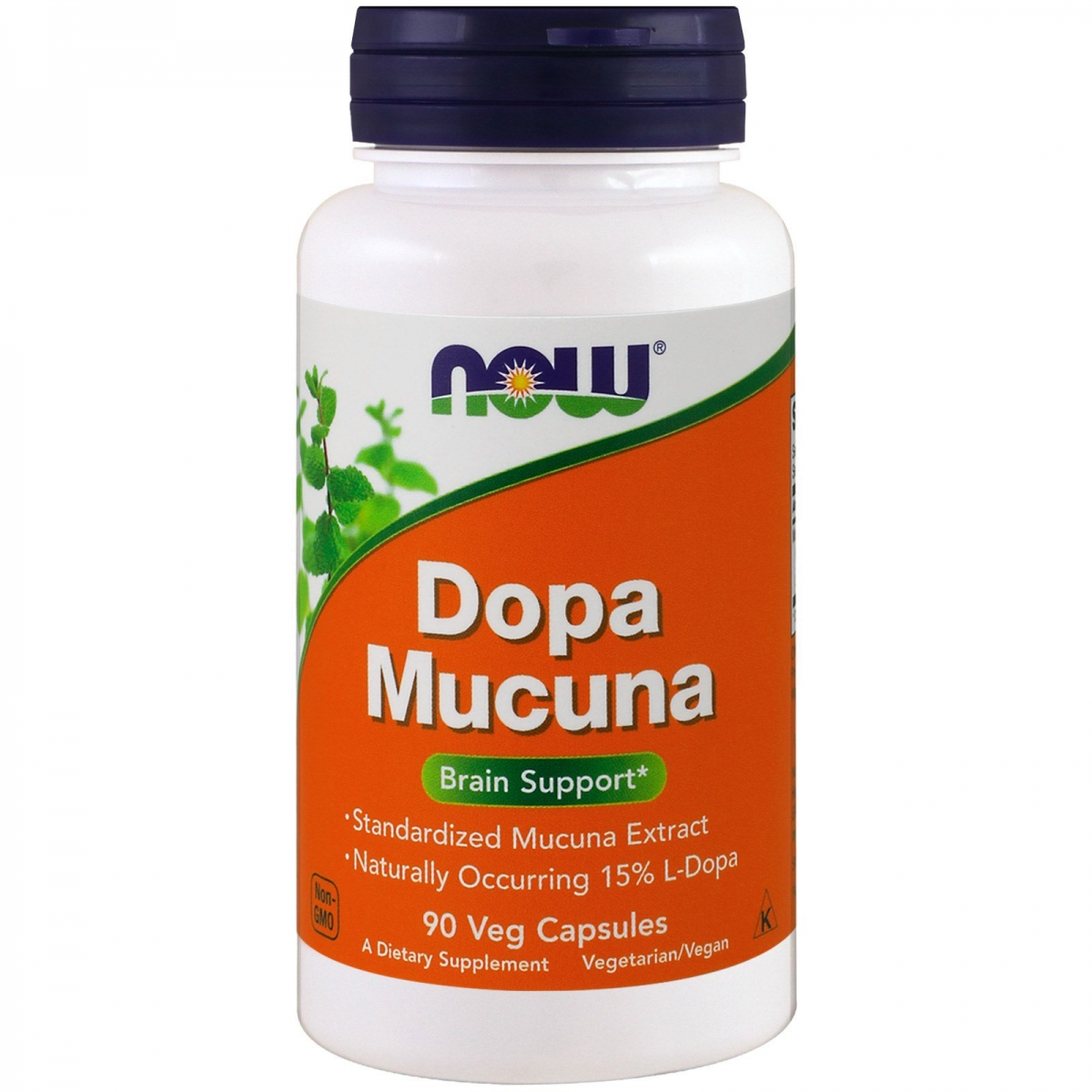 NOW Dopa Mucuna 90caps