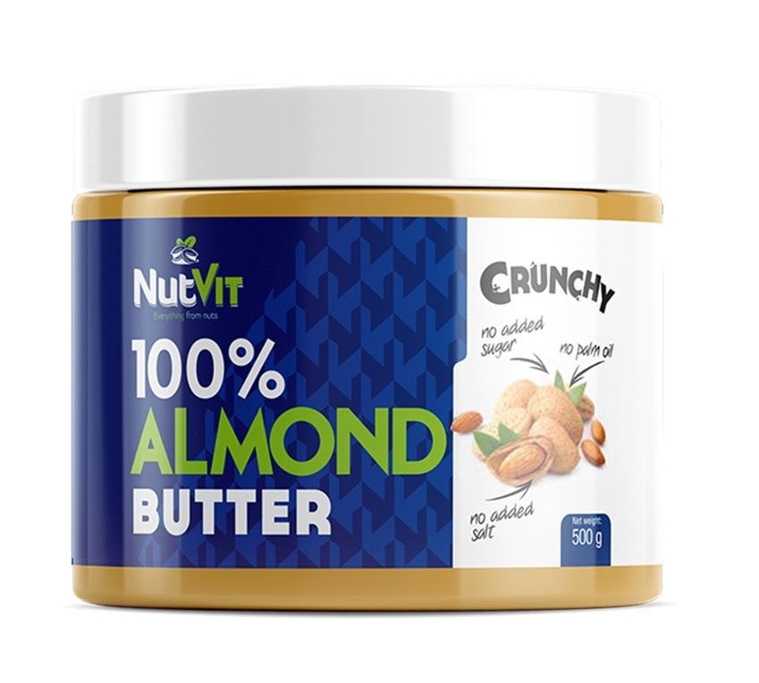 OstroVit 100% Almond Butter Crunchy 500g