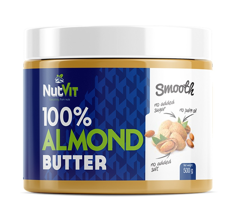 OstroVit 100% Almond Butter Smooth 500g