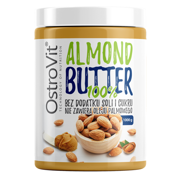 OstroVit 100% Almond Butter Smooth 1000g