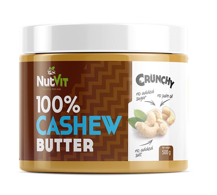 OstroVit 100% Cashew Butter Crunchy 500g