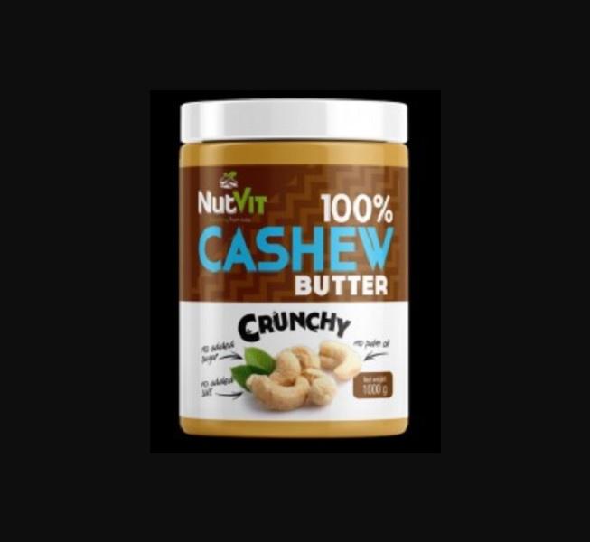 100% Cashew Butter Crunchy 1000g