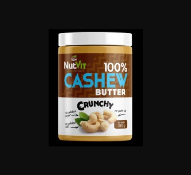 OstroVit 100% Cashew Butter Crunchy 1000g