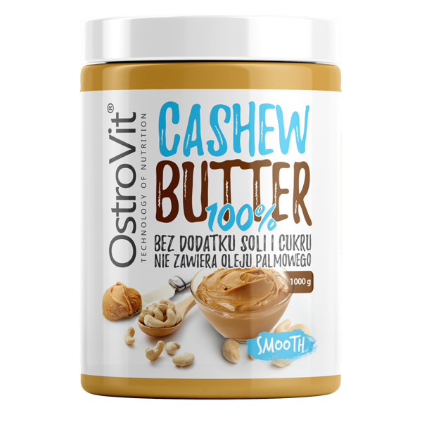 OstroVit 100% Cashew Butter Smooth 1000g