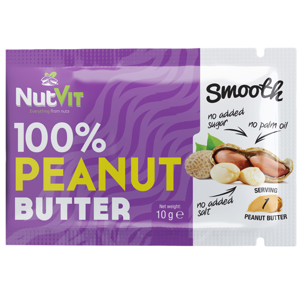 OstroVit 100% Peanut Butter Smooth 10g