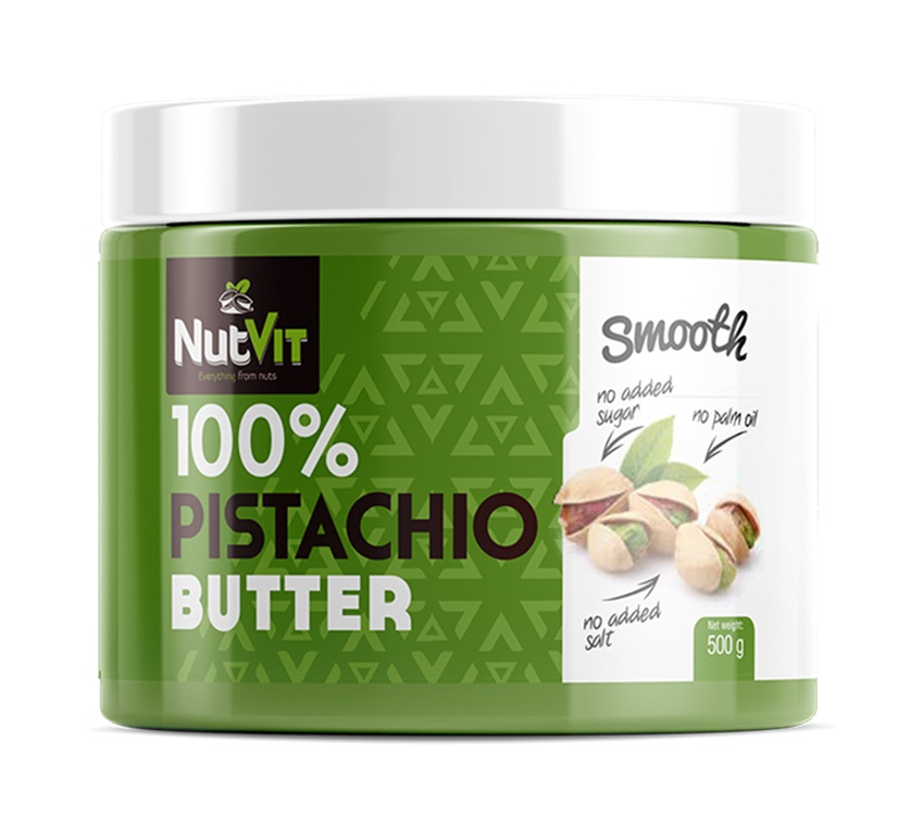 100% Pistachio Butter Smooth 500g