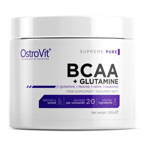 OstroVit Bcaa + Glutamine Powder 200g