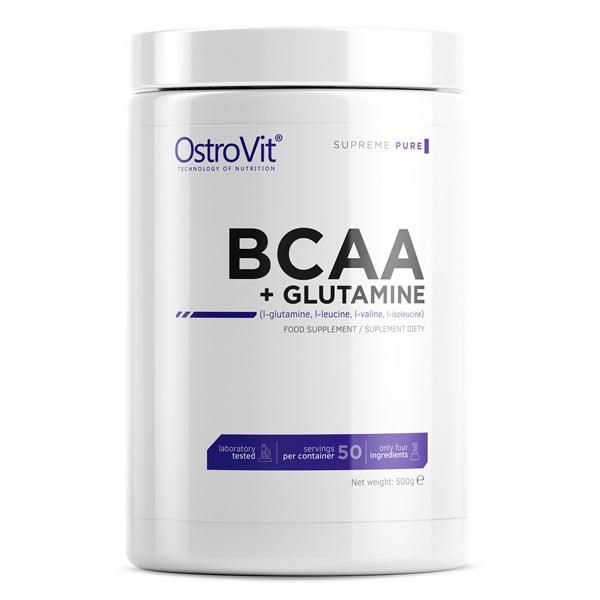 OstroVit Bcaa + Glutamine Powder 500g