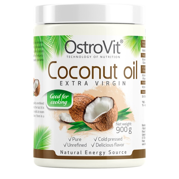 OstroVit Coconut Oil Extra Virgin 900g