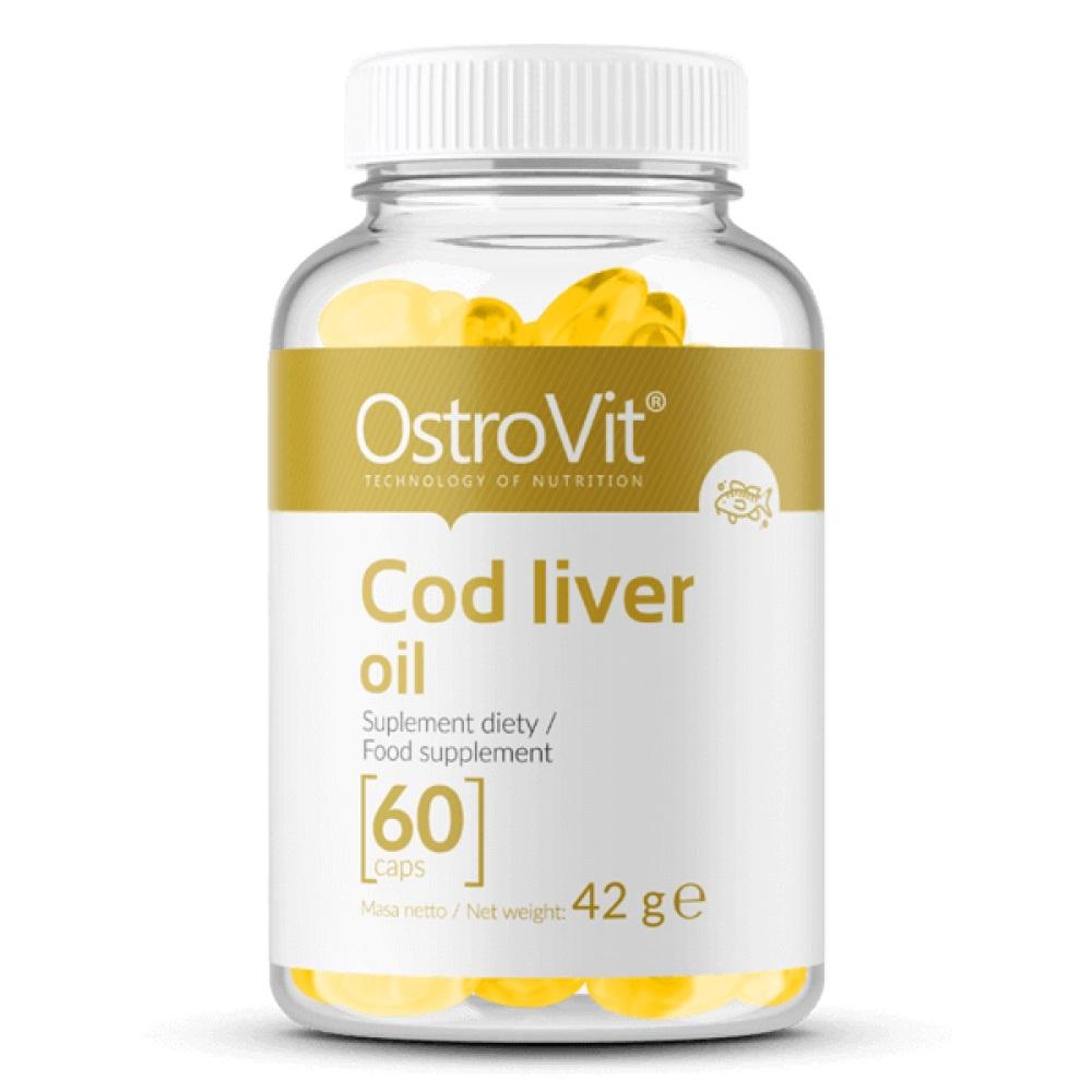OstroVit Cod Liver Oil 60caps