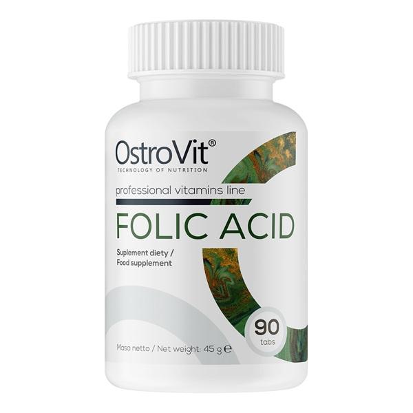 OstroVit Folic Acid 400mcg 90tabs