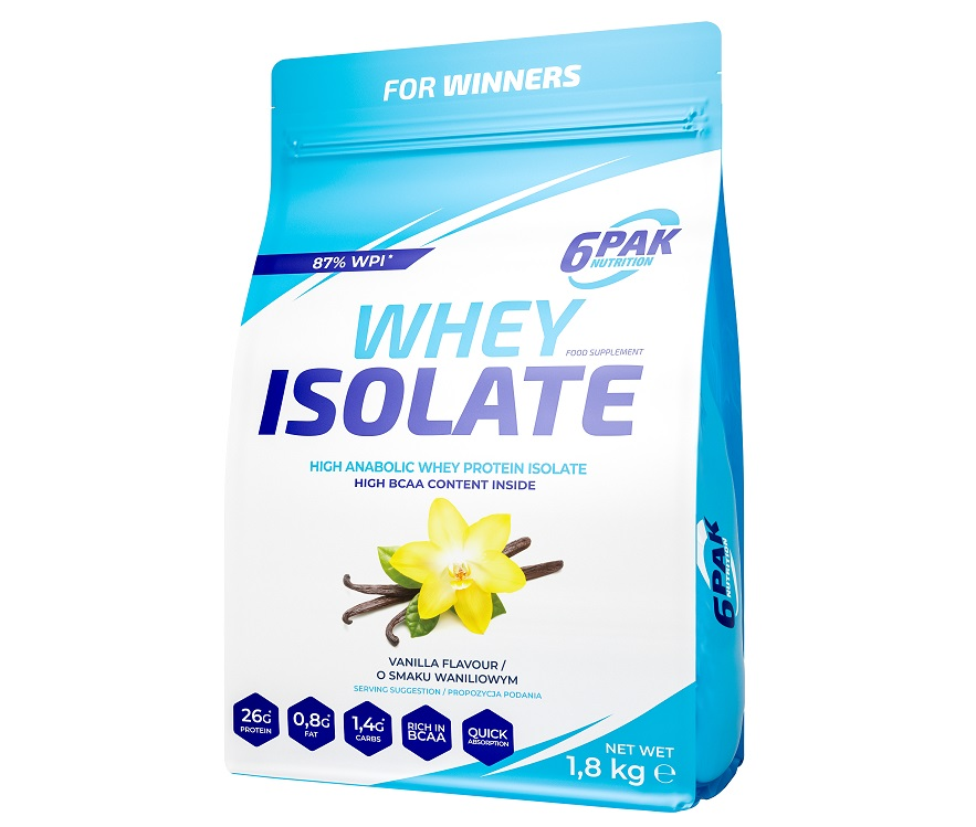 6PAK NUTRITION Whey Isolate 1800g