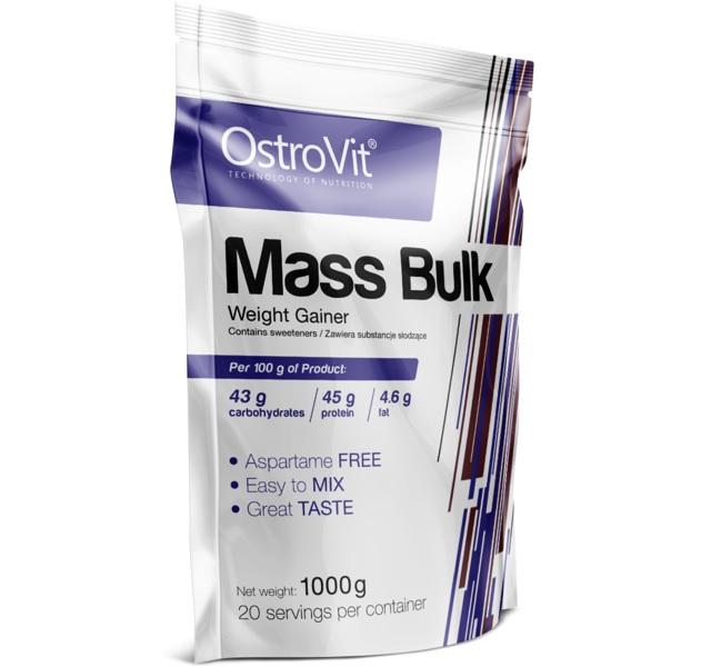 OstroVit Mass Bulk Weight Gainer 1kg