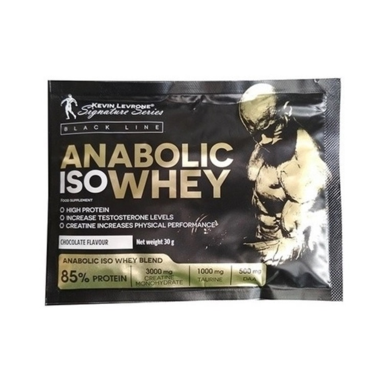 KEVIN LEVRONE Black Line Anabolic Iso Whey 30g