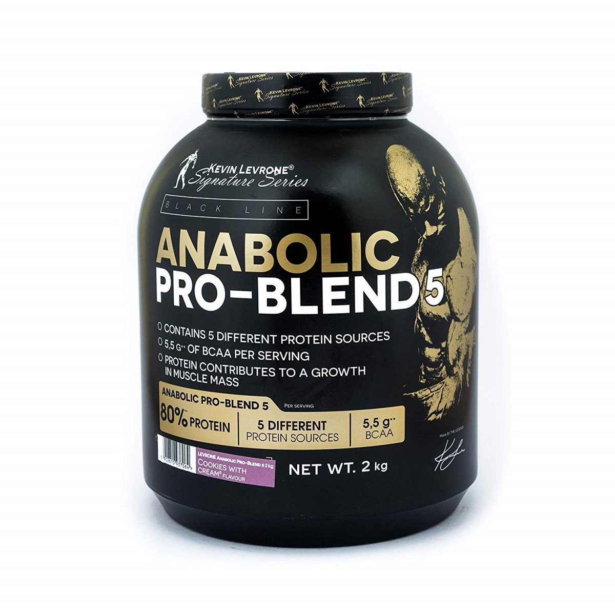 KEVIN LEVRONE Black Line Anabolic Pro Blend 5 2000g