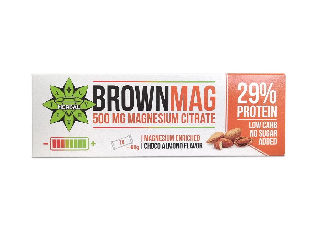 Cvetita Herbal Brownmag Almond 60g