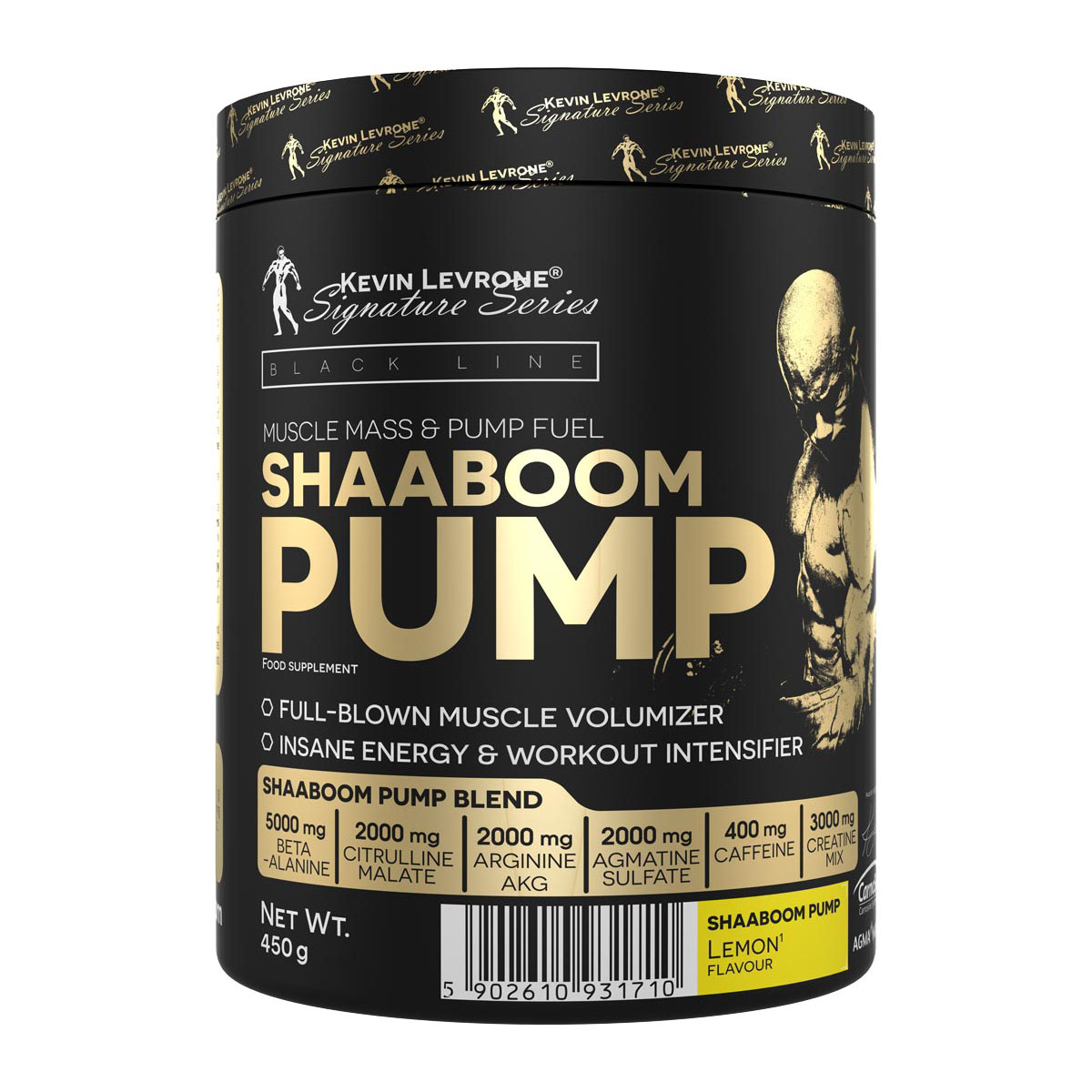 KEVIN LEVRONE Black Line Shaaboom Pump 385g