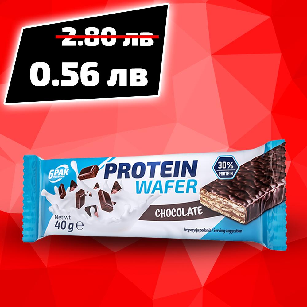 6PAK NUTRITION Protein Wafer 40g