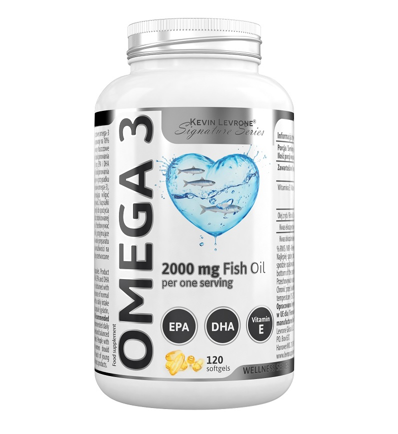 KEVIN LEVRONE Omega 3 Fish Oil 120caps