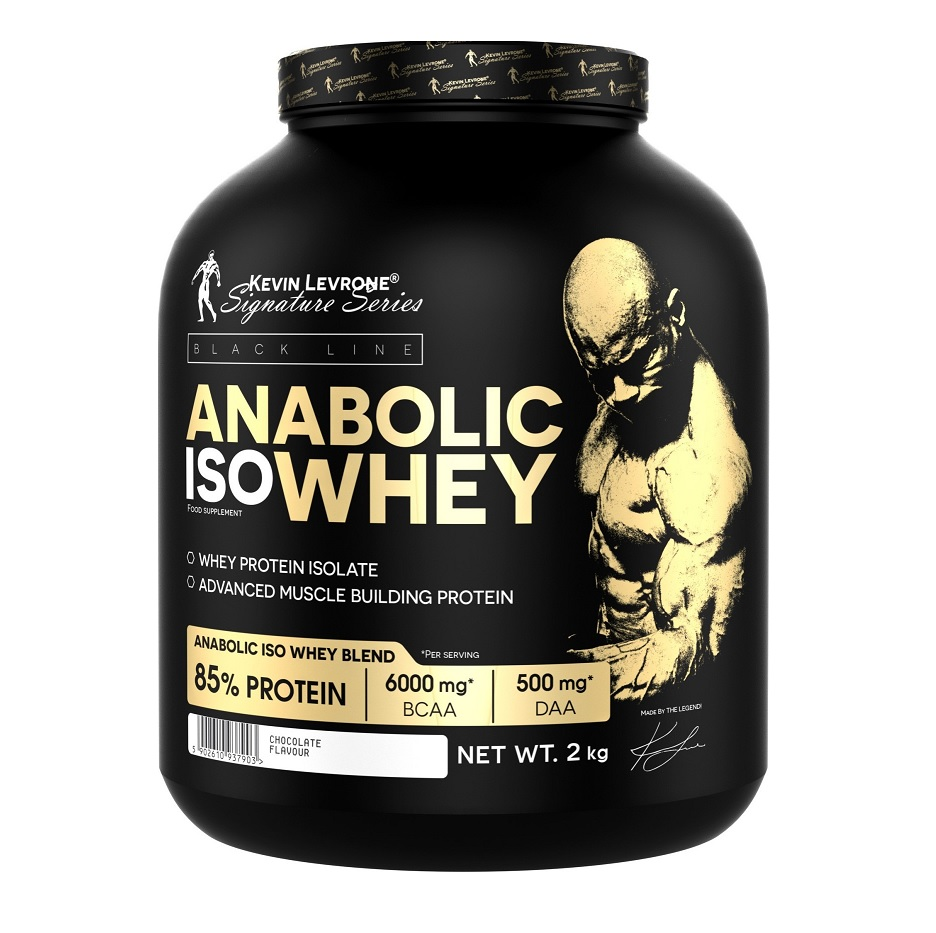 KEVIN LEVRONE Black Line Anabolic Iso Whey 2kg