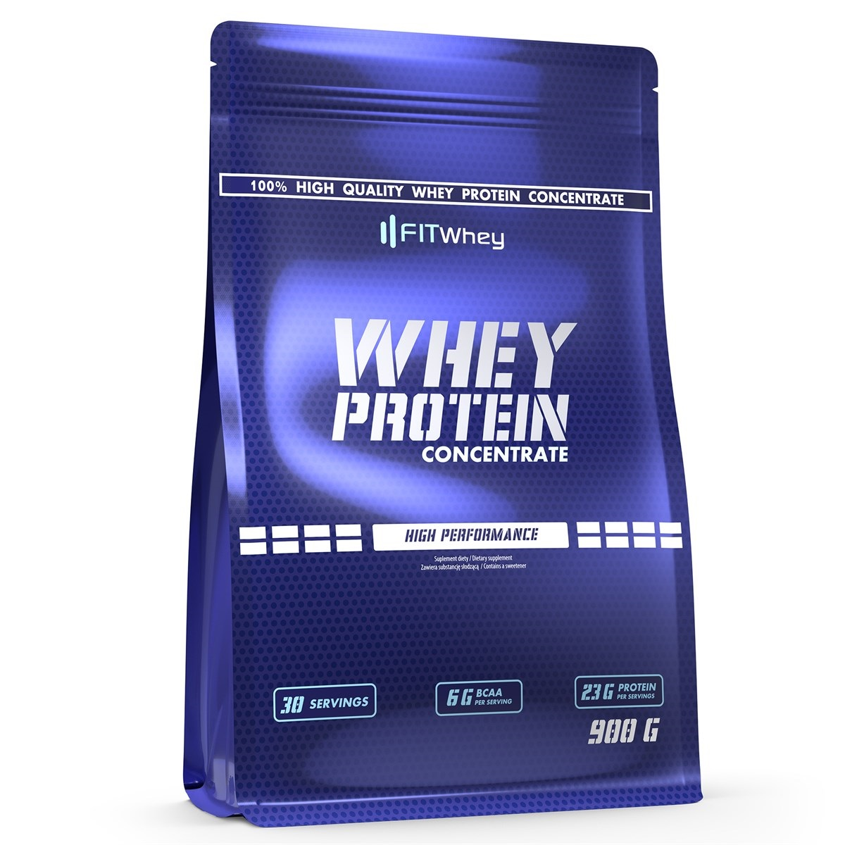FITWhey Whey Protein Concentrate 900g (Суроватъчен протеин концентрат)