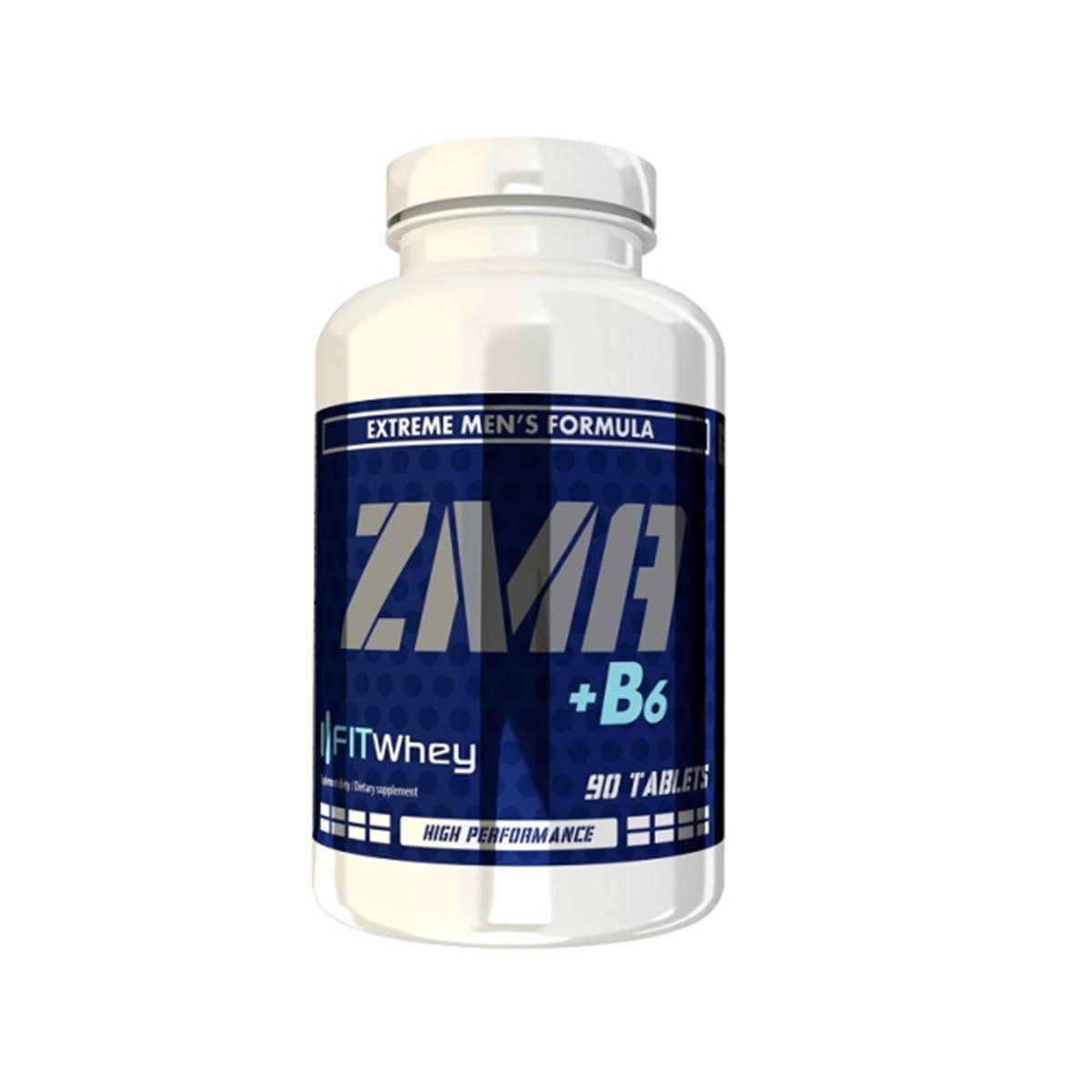 FITWhey Zma+b6 90tabs (Цинк, магнезий и витамин Б6)