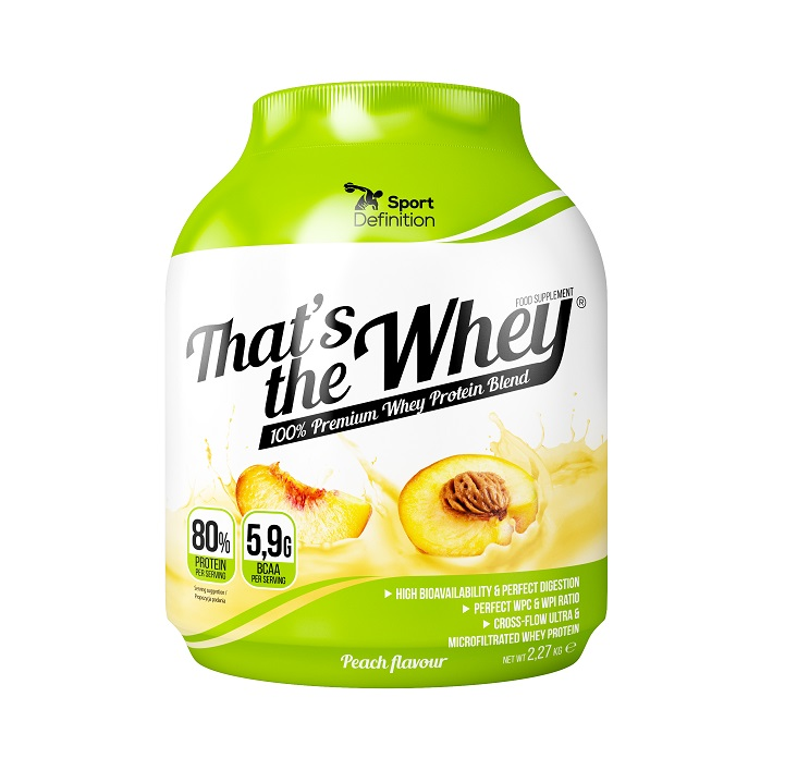 Sport Definition That′s The Whey 2,27kg Peach