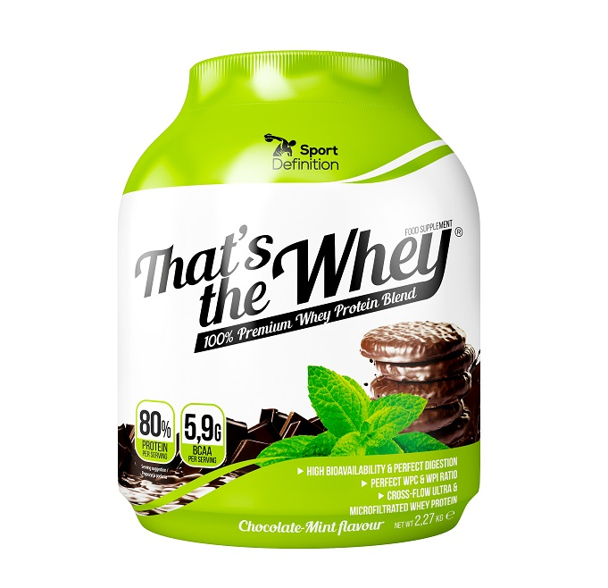 Sport Definition That′s The Whey 2,27kg Chocolate Mint