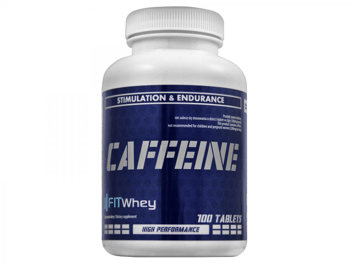 FITWhey Caffeine 100tabs (Кофеин)