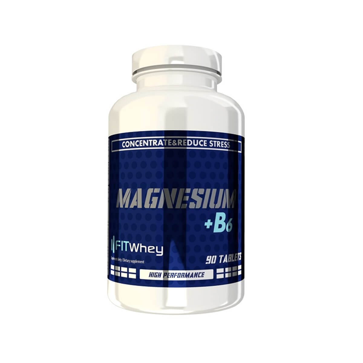 FITWhey Magnesium + B6 90tabs