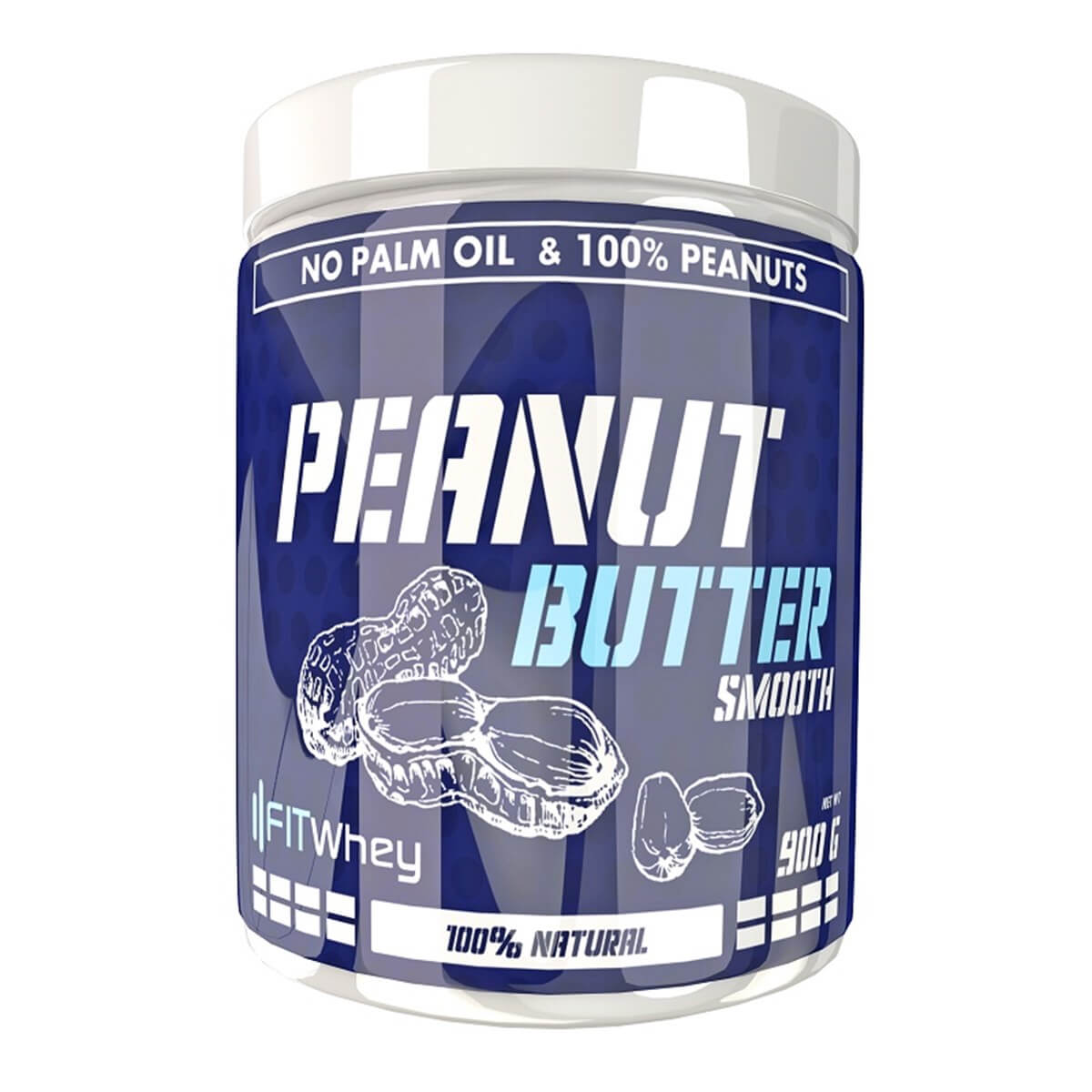 FITWhey Peanut Butter Smooth 900g (Фъстъчено масло)