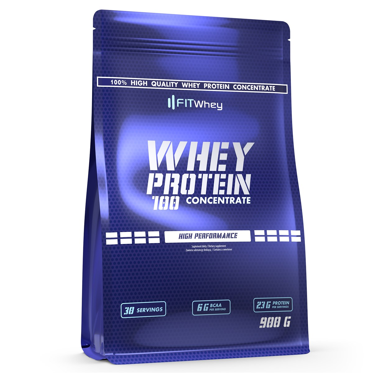 FITWhey Whey Protein 100 Concentrate 900g (Суроватъчен протеин концентрат)