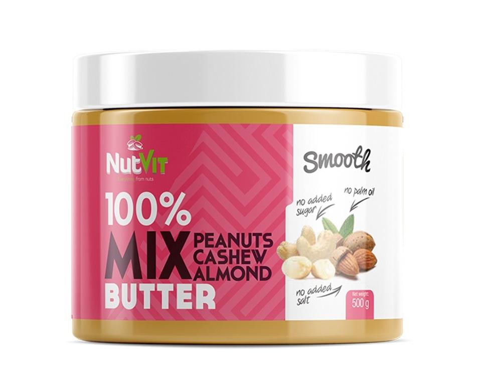 100% Nut Butter Mix 500g