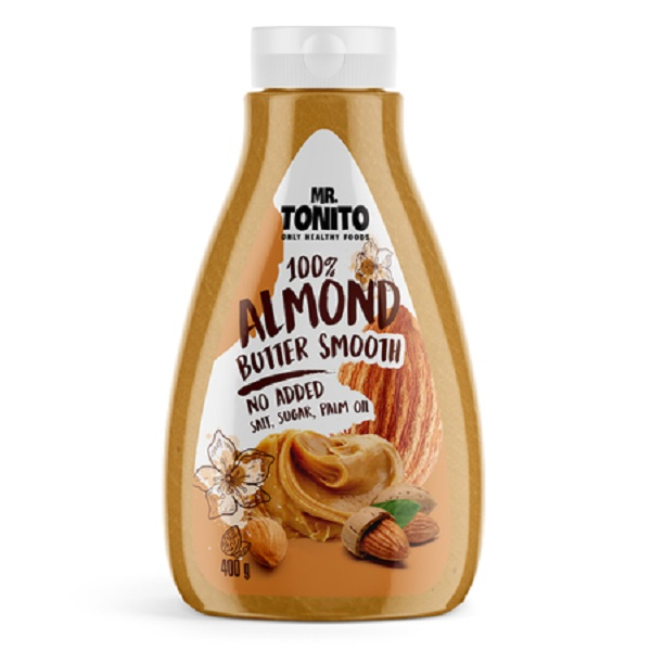 Mr. Tonito Almond Butter Smooth 400g