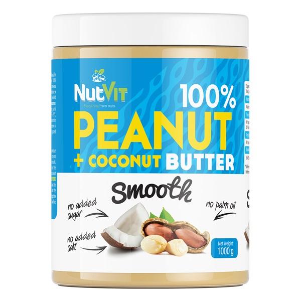 OstroVit 100% Peanut Butter + Coconut Butter 1000g