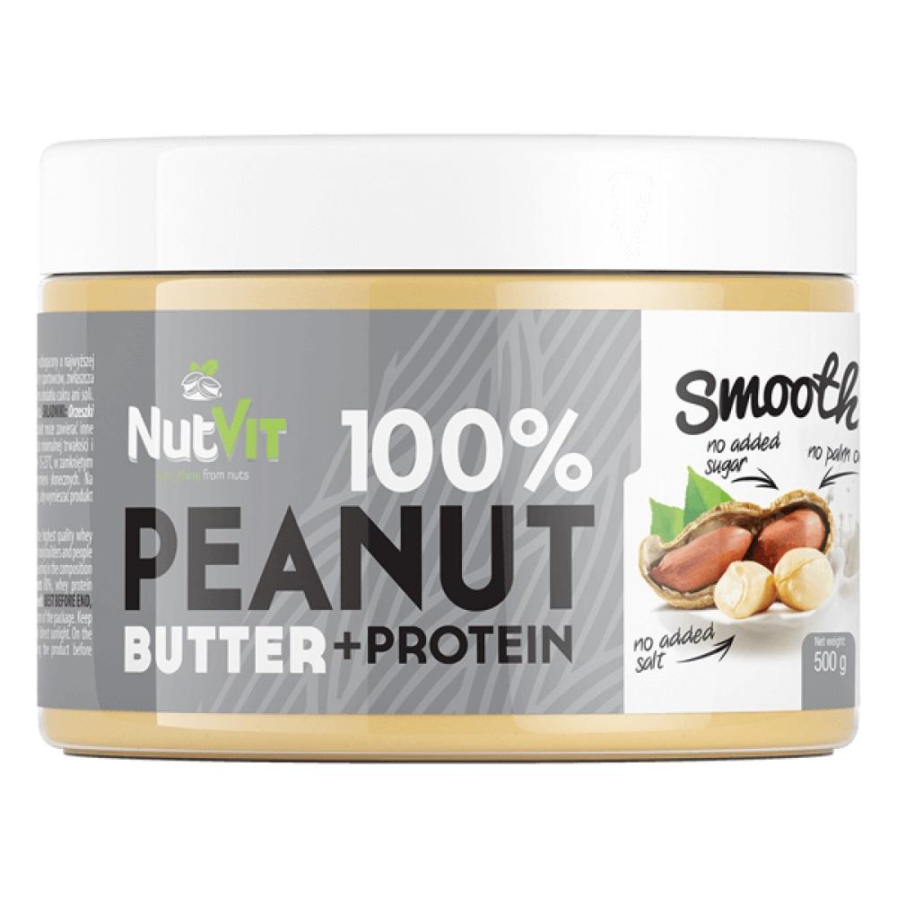 OstroVit 100% Peanut Butter + Protein 500g